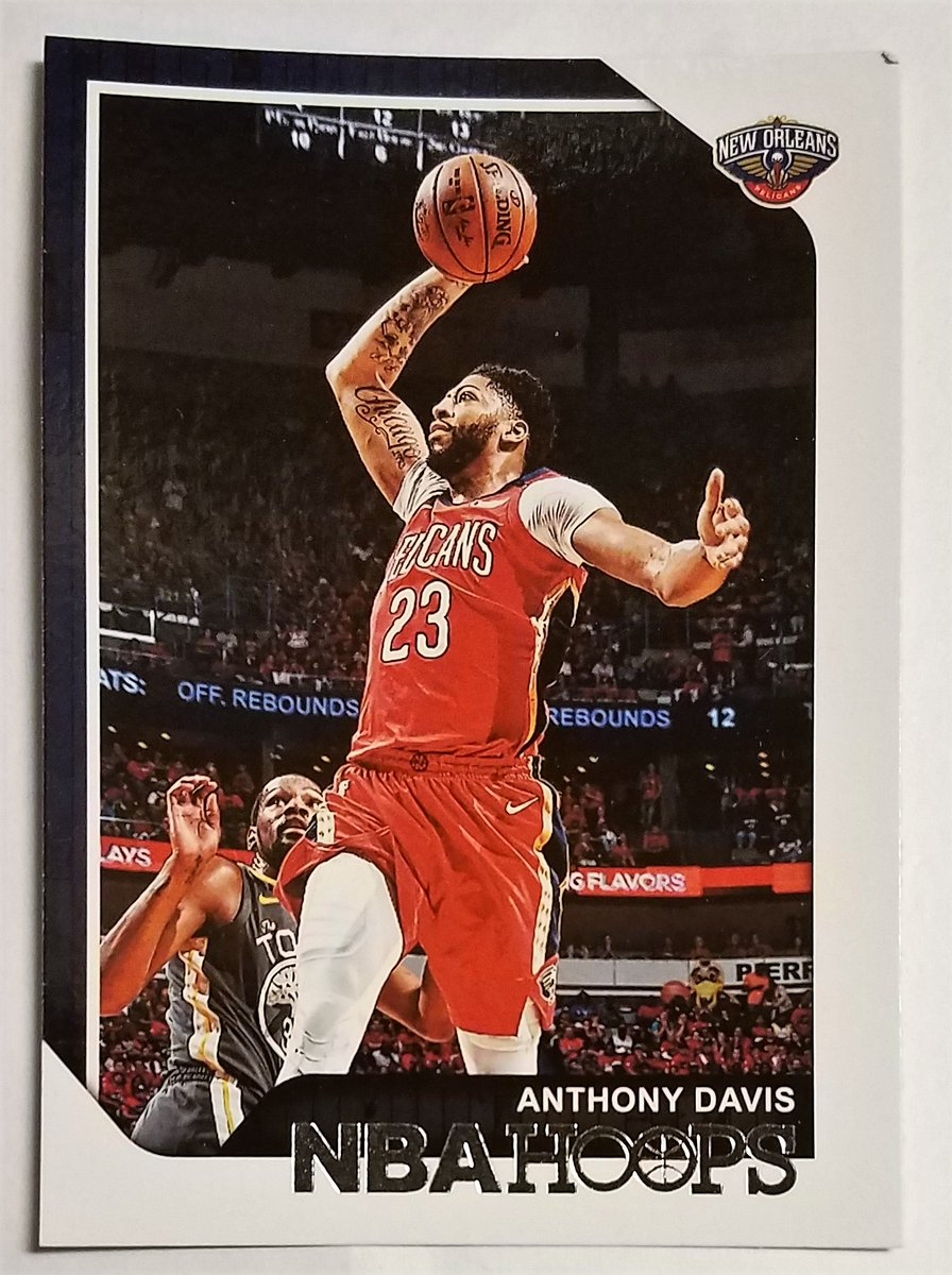 ***NEW CARD***  #Pelicans  ANTHONY DAVIS #161 2013-18 #NBA CAREER TOTALS 2018-19 PANINI-HOOPS  BASKETBALL #SportsCards