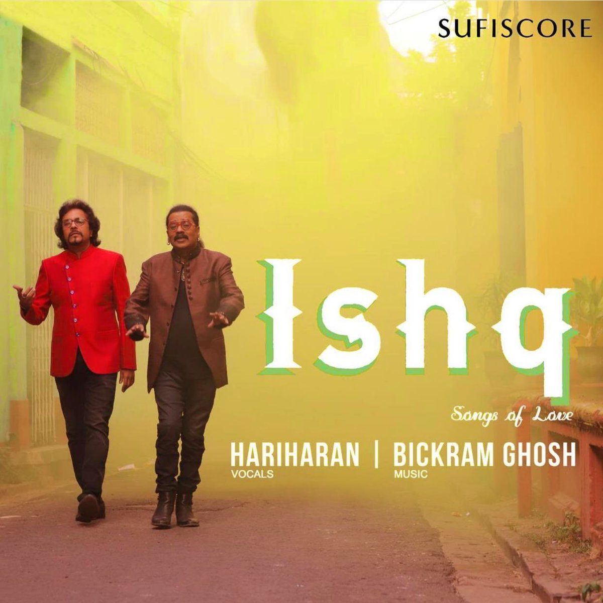Just want to take a minute & applaud all the great music my brothers @SingerHariharan & @bickramghosh have come out with 👍👍 .. & kudos to team @sufiscore .. Coming straight from the heart just like it's name #Ishq .. Songs Of Love!😎👍🏻  Guys, go check out the album! 👍🏻😊