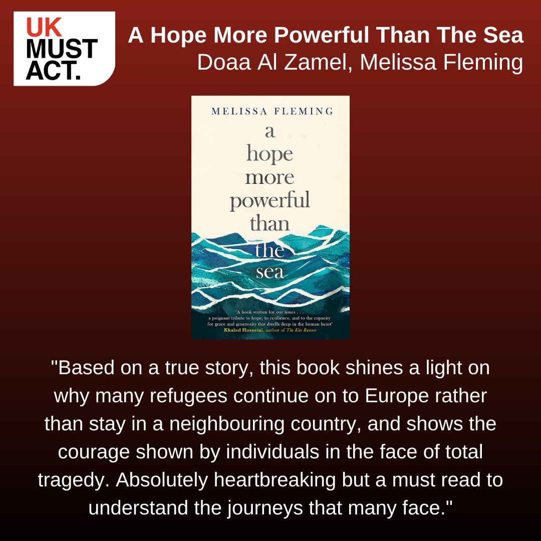 Happy #WorldBookDay2021 What books have inspired you? 📚📚  Here are some recommendations from the UK Must Act team:   Exit West  A Hope More Powerful than the sea  #UKMustAct #GoodBooks #WorldBookDay
