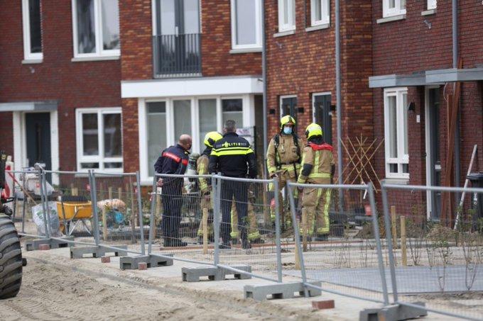 Gaslek bij nieuwbouw woningen Maasdijk https://t.co/R66AGC2Ydm https://t.co/qFcfO22Xrz