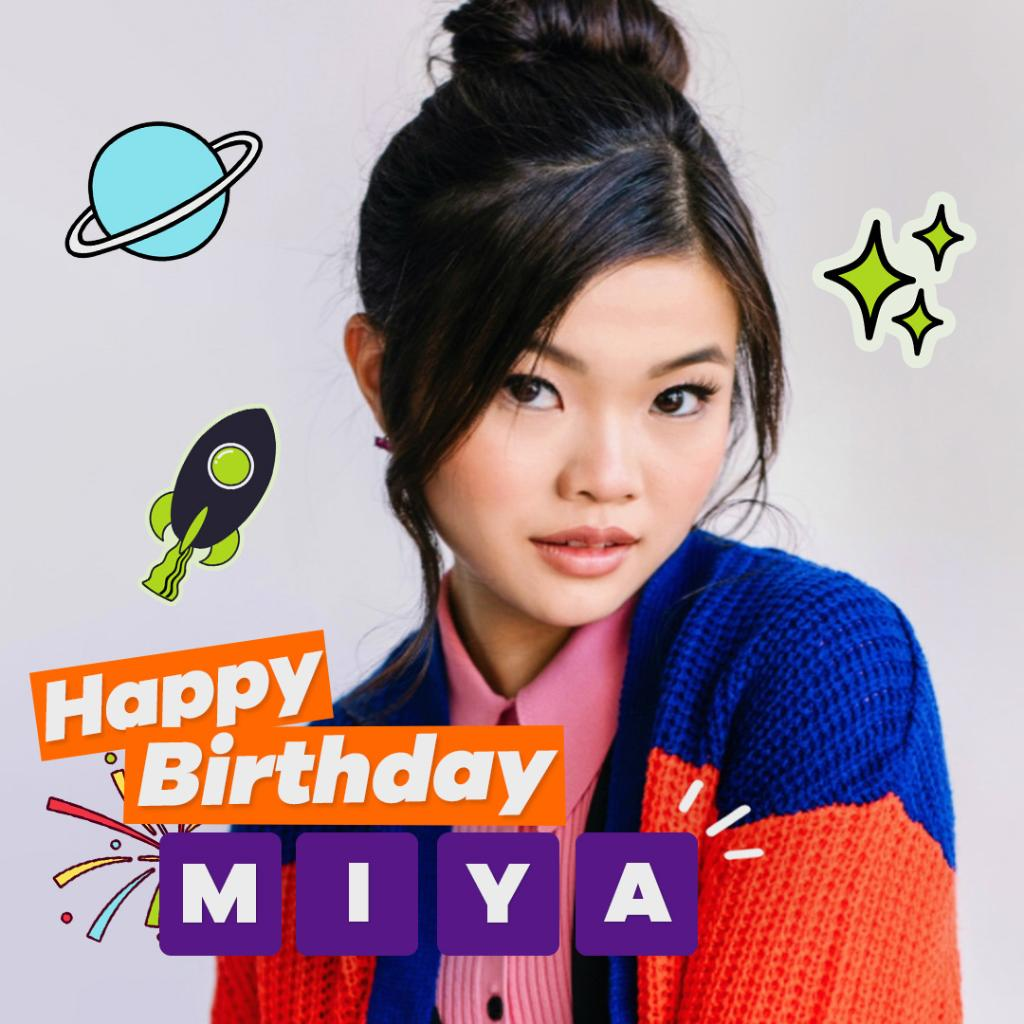 hope your birthday is a blast @miyacech 🚀