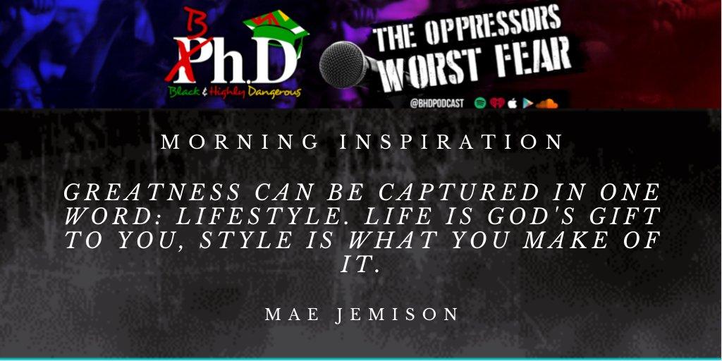 Lifestyle matters. --- #QuoteOfTheDay #MorningMotivation #BhDPodcast #OppressorsWorstFear