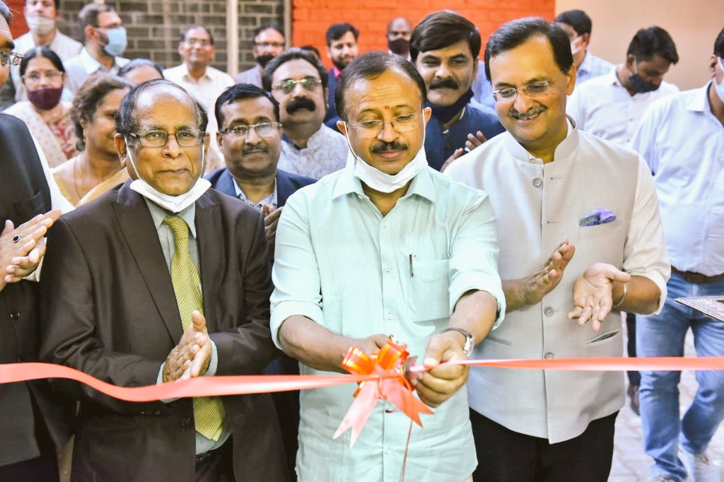 Happy to have inaugurated @ICCR_Delhi Regional Centre at @UnivofDelhi. Confident that the new Centre will be a unique abode for serving overseas students in Delhi and in the region.