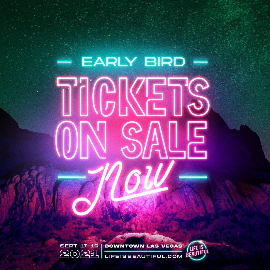 Early Bird Tickets
