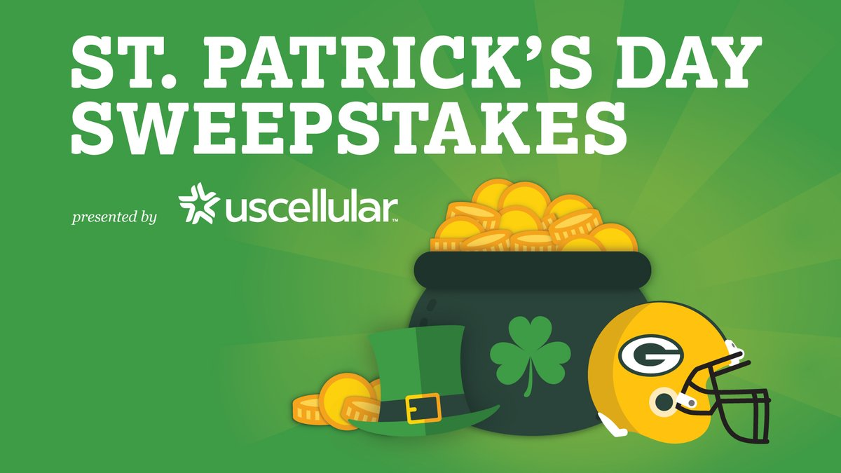 Enter to win some green & gold with @UScellular!   One lucky winner will receive a $500 @packersproshop gift card & a 5G smartphone.  🏈☘✨: