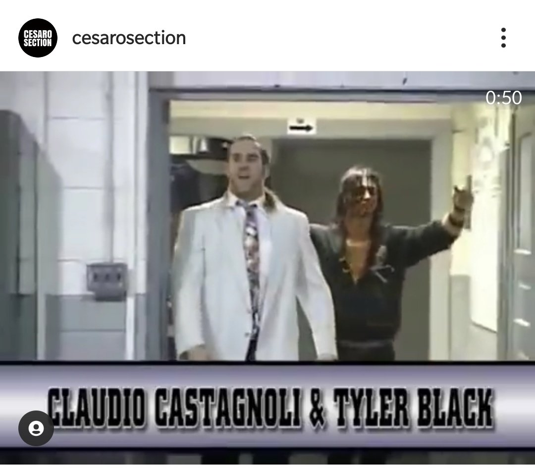 @WWECesaro and @WWERollins   #Throwback  Claudio N Black !!!  Or Claudio N Tyler !!! 🤩🤩  @CesaroSource @SethRollinsFans @_Rollins_Utd #Smackdown @wwe @WWEIndia @WWEonFOX