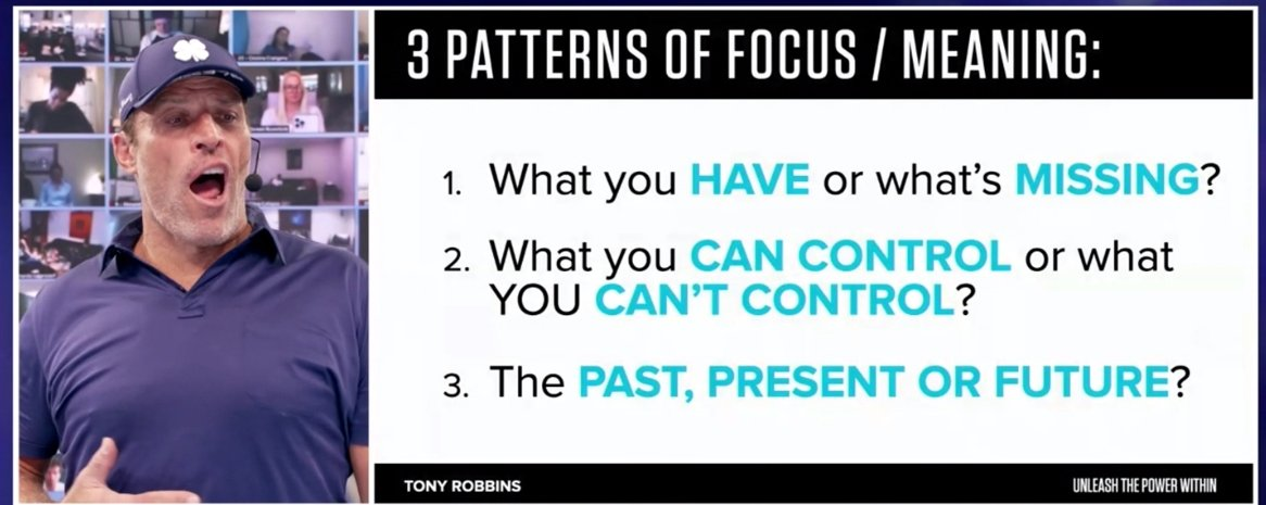 """UPW - Quelles #questions poser pour avancer ?   3 #Focus pattern : #have + #control + #present time, so as """"the impossible becomes #possible"""".😊  #CHALLENGE #UPW #ChallengeAccepted #beautiful state"""