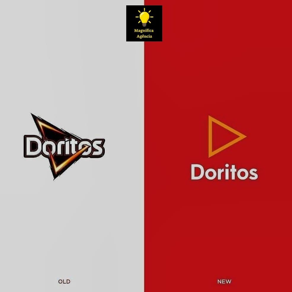 Diz aí qual você prefere? . . . . . . . . . . @doritosbrasil #doritos #minimalismo #designergrafico #logomarca #logotipos #marketingpessoal #marketingdigital #marketingtips #marketingtips #vetores #instalike #instadesign #design