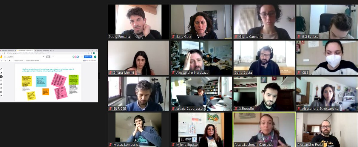 Terminato l'ultimo workshop @youcoope. Grazie ai nostri Riccardo #Bodini e @PaoloFontana3 abbiamo riflettuto su come progettare un nuovo percorso sull'imprenditoria #coop per giovani. Gli spunti erano così interessanti che abbiamo salutato i corsisti con un #arrivederci 😄