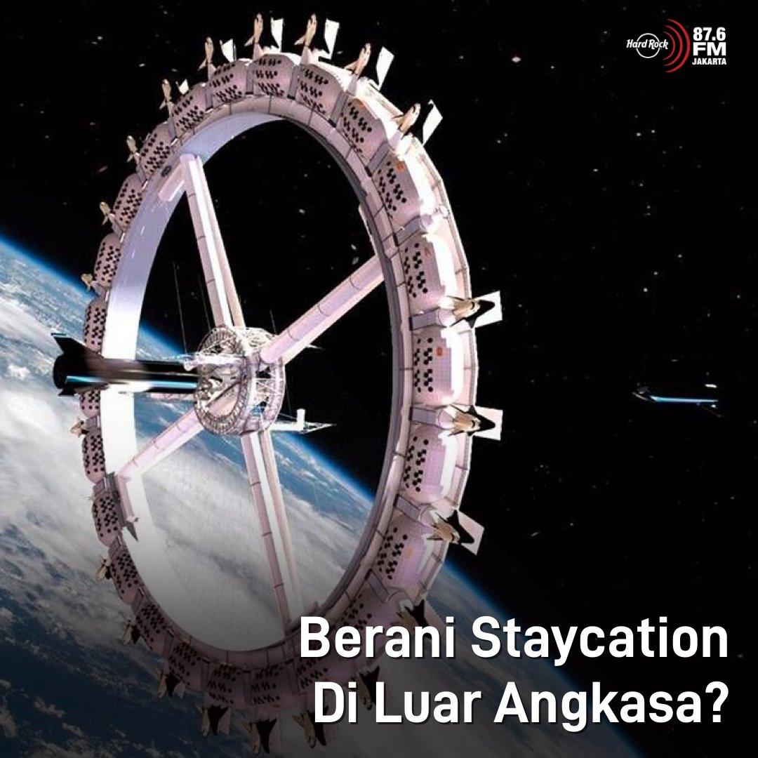 #HRFMNews Hotel luar angkasa pertama di dunia dikabarkan akan segera dibangun oleh perusahaan Orbital Assembly Corporation.   Rencana pembangunan tersebut akan dimulai tahun 2025 dan diperkirakan selesai paling cepat tahun 2027. Udah siap buat nginep di luar angkasa?!