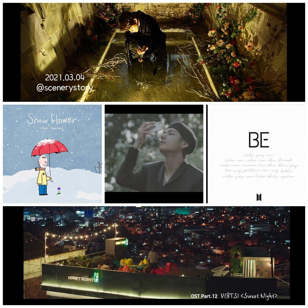 🌌 밤 11시  #KTH1iscoming   Sweet Night~🌙  WE LOVE YOU KIM TAEHYUNG   #BTSV #김태형 #TAEHYUNG #テテ @BTS_twt