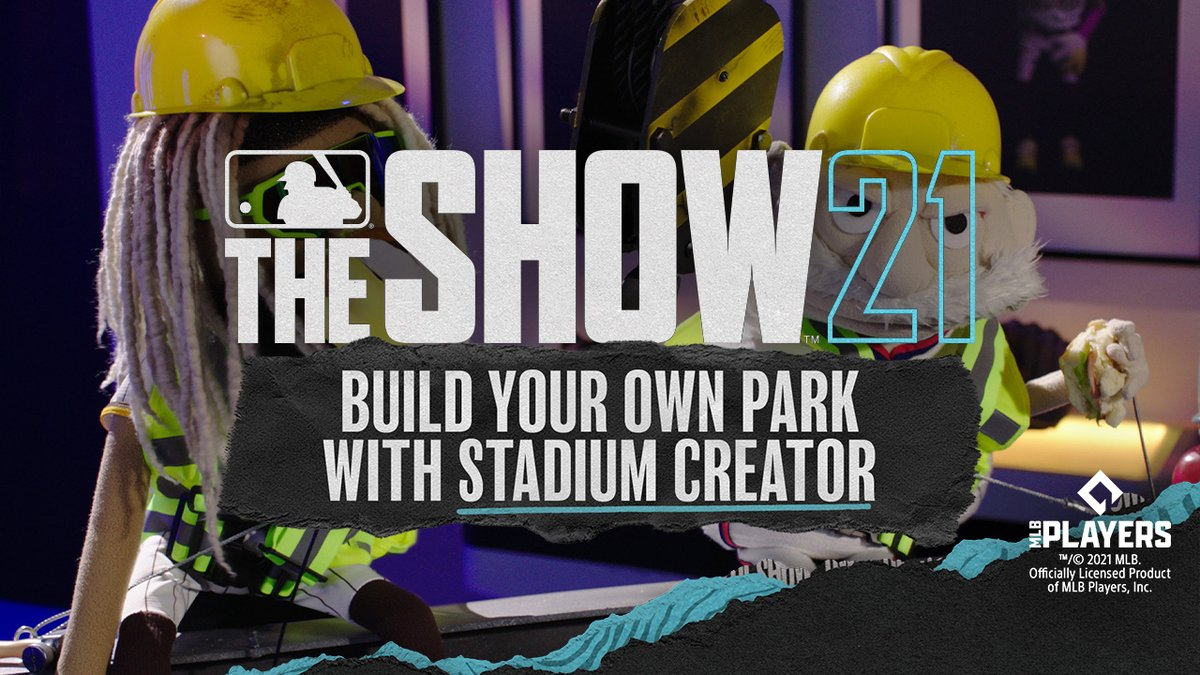 Build the next great ballpark 🎫 Coach and Fernando showcase the total control of MLB The Show 21's Stadium Creator. Construction begins April 20: