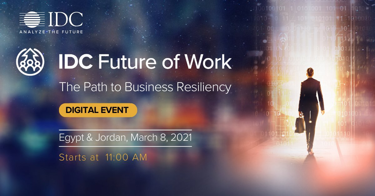 IDC Future of Work: The Path to Business Resiliency