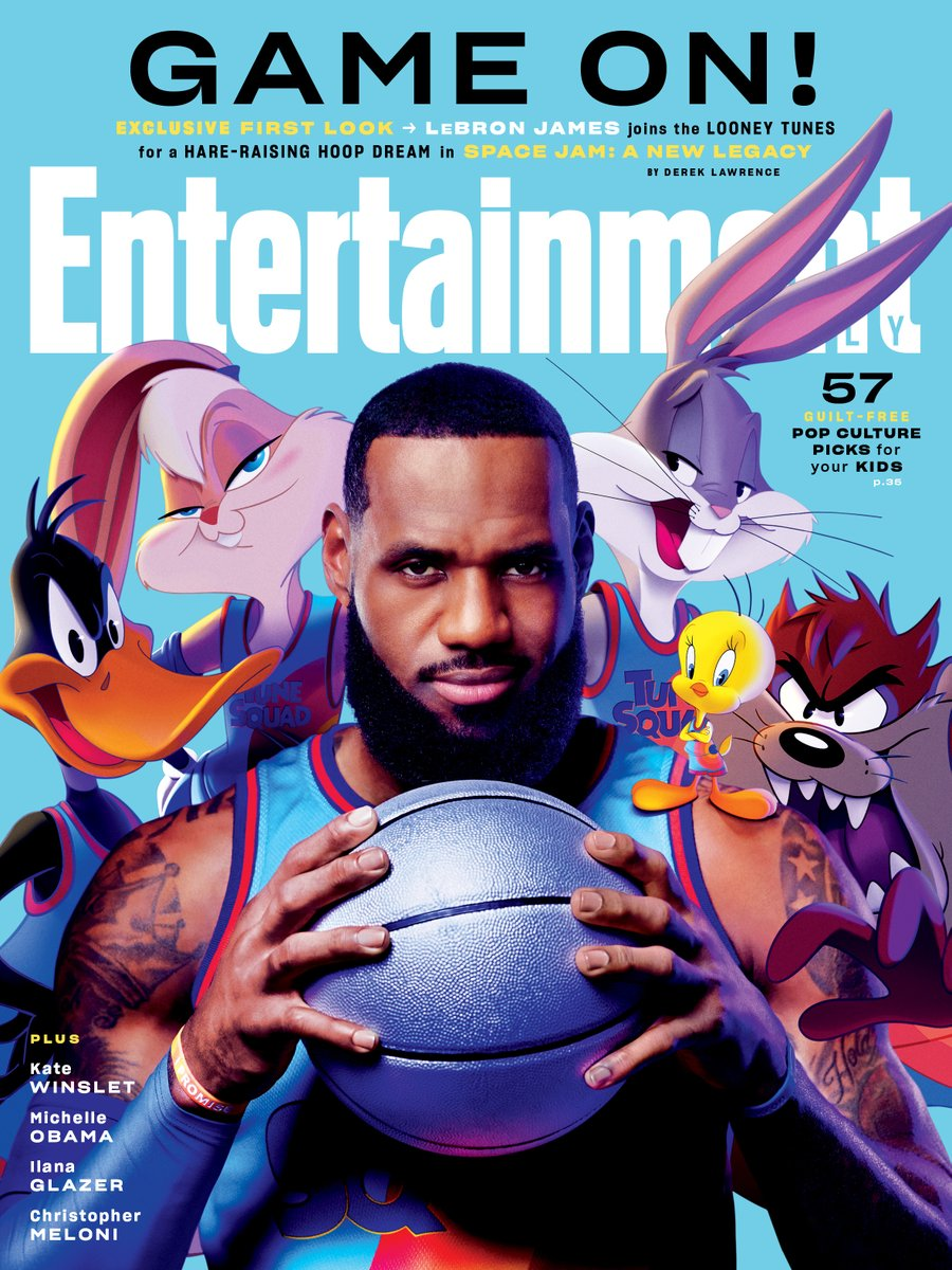 Game on! In @SpaceJamMovie, @KingJames leads the charge as the Looney Tunes' superteam reunites for the craziest basketball game anyone has ever witnessed. See the FIRST LOOK: bit.ly/3rkLGDC Story by @derekjlawrence