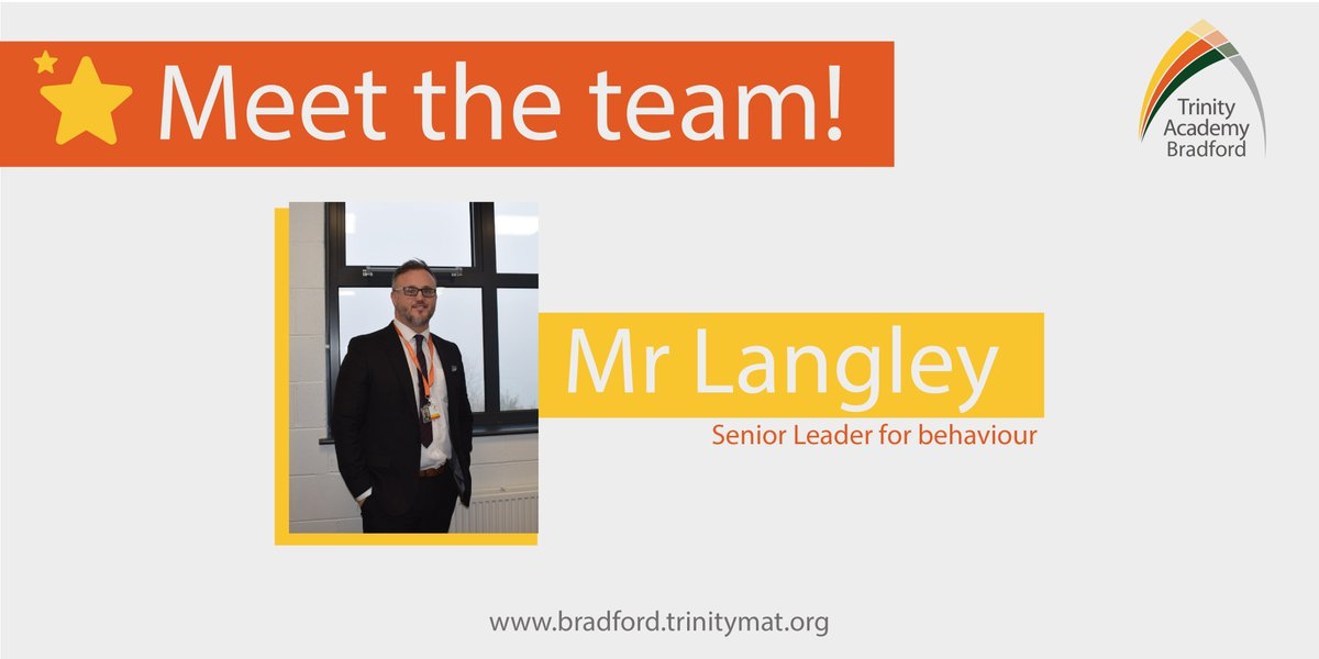 🌟Students will be seeing a few new faces walking the corridors of Trinity Academy Bradford! 🌟 One of those new faces is Mr Langley - an experienced pastoral leader & will also be helping out with the PE team!  📖Read our newsletter to find out more: https://t.co/uKmqSdjvJj