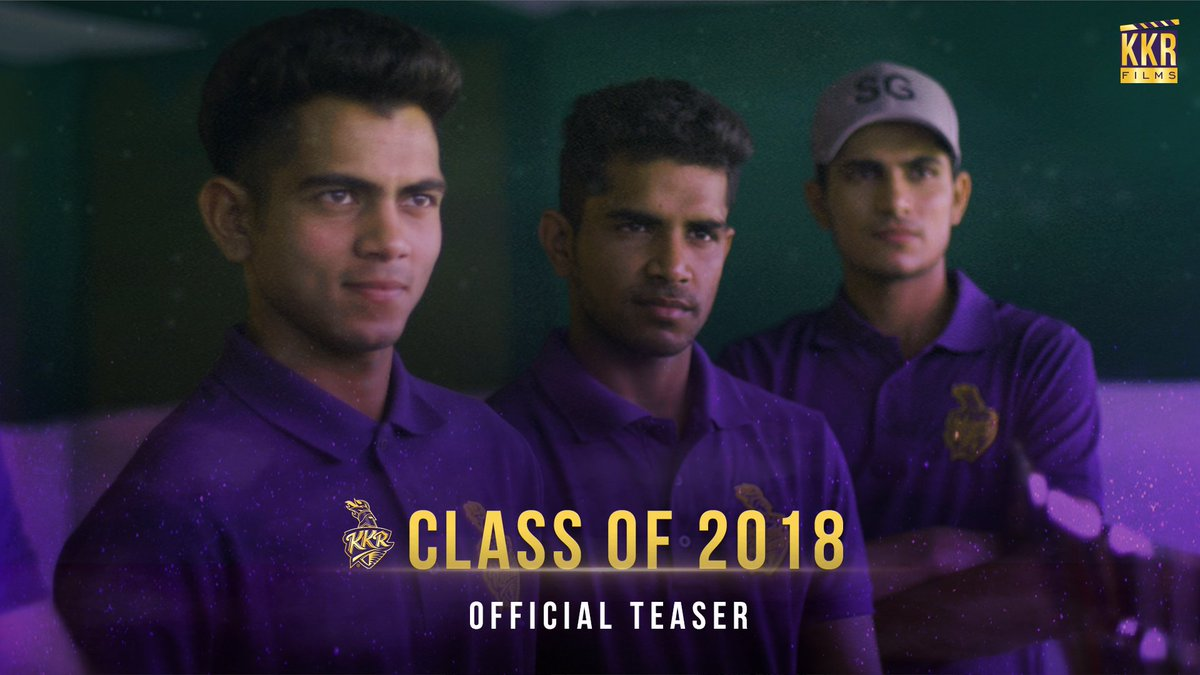 🗓 Releasing Tomorrow!  #KKRFilms Episode ✌️ ⏰ 1⃣2⃣ noon on 📌  Watch the journey of the young guns @Imnagarkoti, @ShivamMavi23 and @RealShubmanGill as they entered the big boys' club in the world's biggest tournament   #KKR #HaiTaiyaar