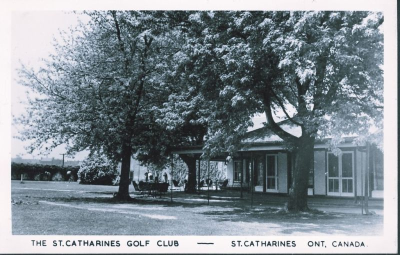 #TBT to this classic photo of the Clubhouse circa 1950  #throwbackthursday #stcgcc #ourhomeSTC #stcatharinesgolfandcountryclub