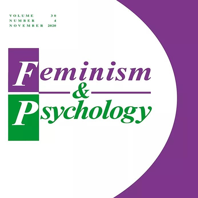 #tbt  #womenshistorymonth 30 years ago, the first issue of Feminism & Psychology was published. Now a leading journal in feminist scholarship, the first issue included an article by Dr. Michelle Fine, known for her work with adolescent girls, youth sexuality, and social justice.