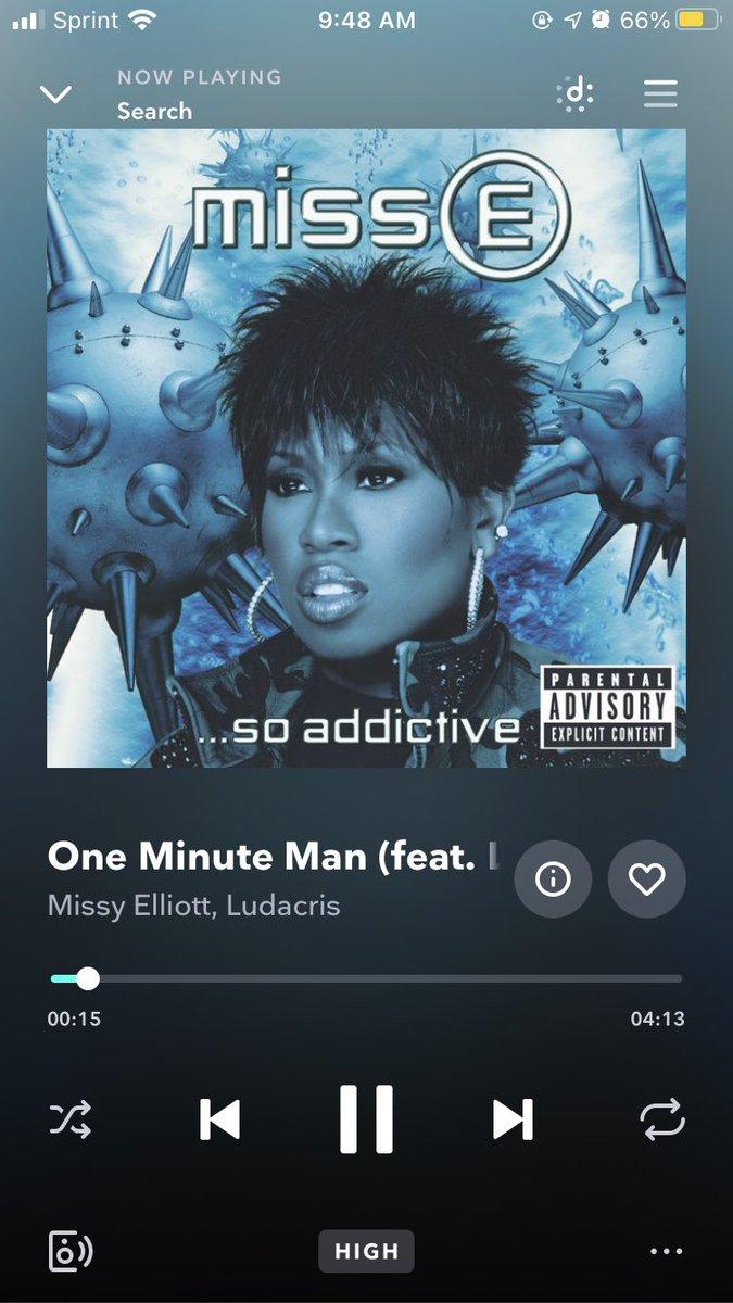 Ooh, I don't want I don't need I can't stand no minute man I don't want no minute man #tbt
