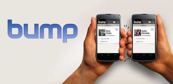 #TBT to the Bump App that you had downloaded to use, but the person you wanted to share your contact info didn't so you had to share your info manually anyway
