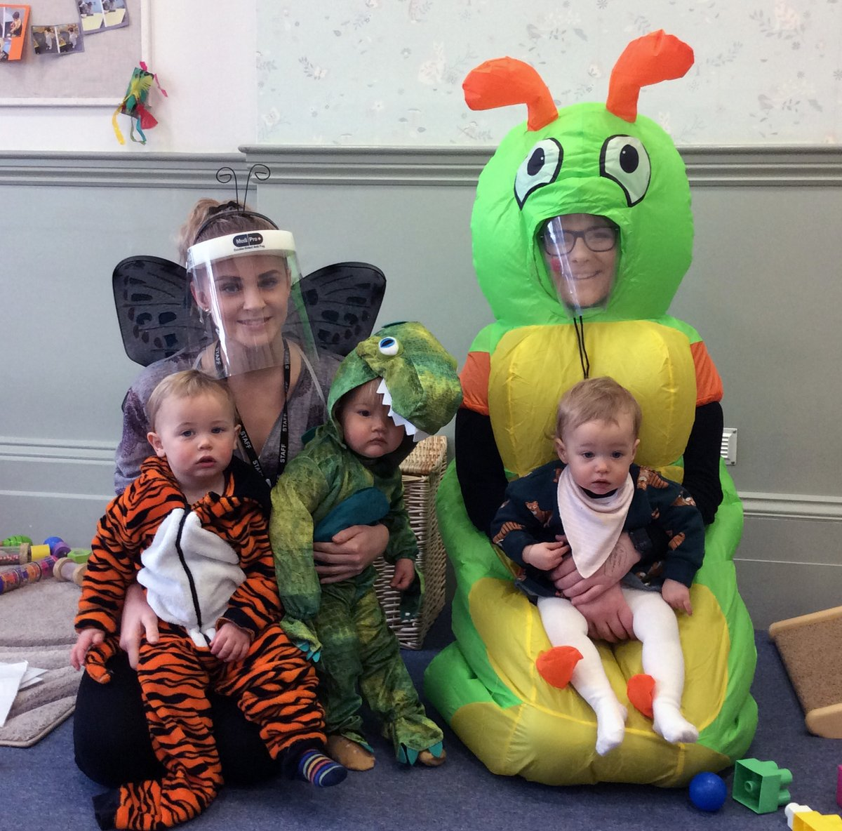 WORLD BOOK DAY Our youngest children in Highgrove Nursery have also been having great fun today ... well done to everyone in Cottontails, Tiggywinkles, Puddleducks and, of course, the hard-working staff! #WorldBookDay #strongertogether @parenttalksw