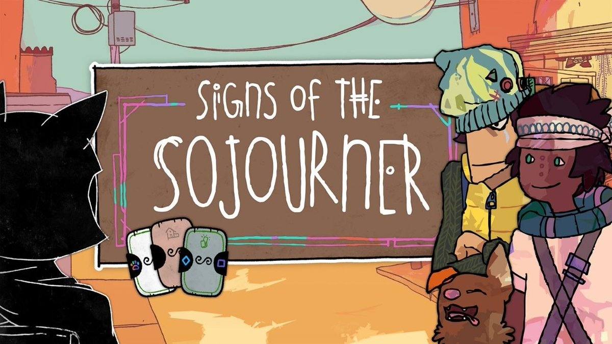 Build a deck and grow relationships in Signs of the Sojourner. The narrative card game comes to PS4 March 16: