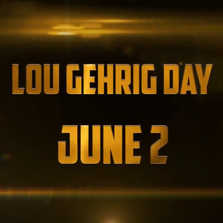 June 2 will forever be known as Lou Gehrig Day.   Each year, we will celebrate his legacy and honor those we've lost to ALS. Together, we will help in the fight against this disease. #4ALS
