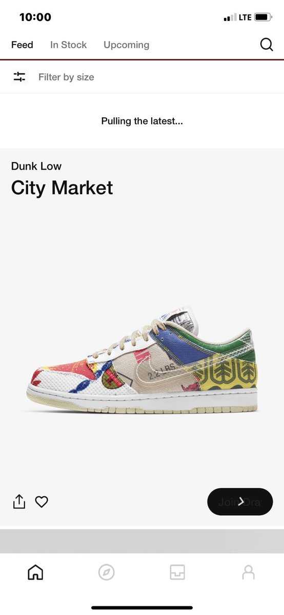 The draw is open they said 🙄 #snkrs