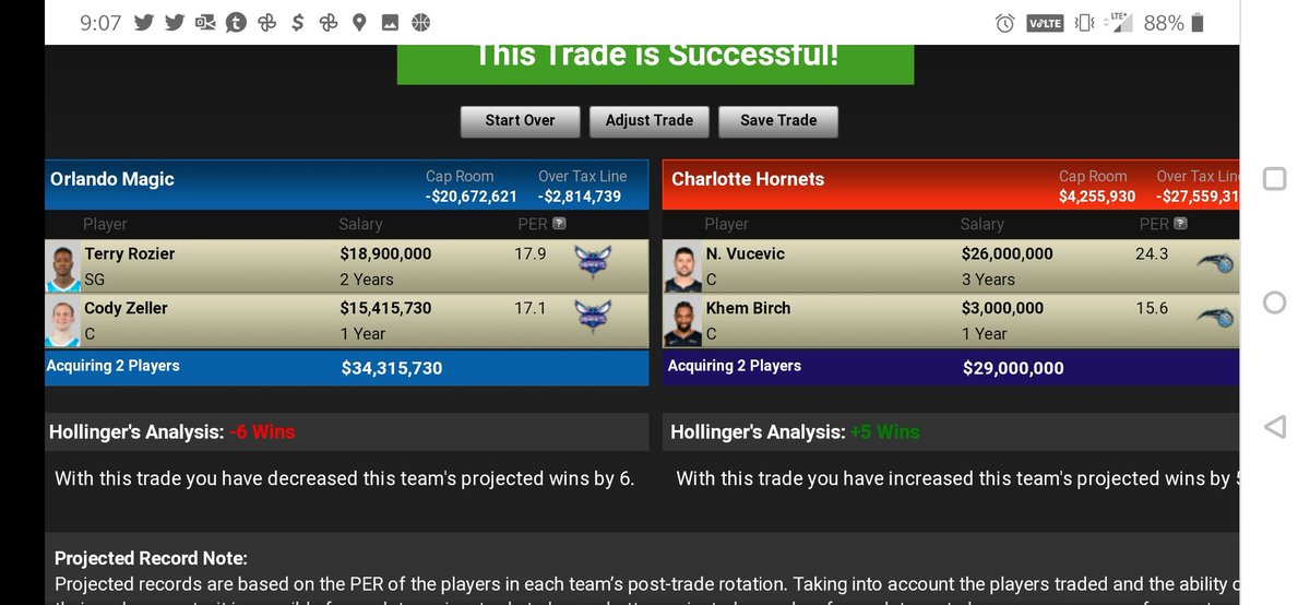 Hornets rae interested in Vucevic.  Thoughts ???? 👀 #magictogether