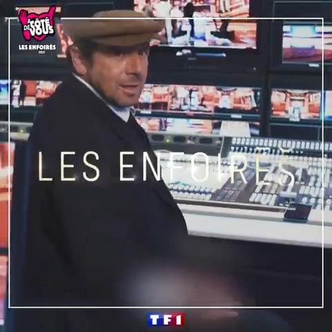 H-1 avant le SHOW 🔥 ⏰ RDV à 21:05 pour le spectacle des #Enfoires2021, #ACôtéDeVous ! https://t.co/S8BjzaG7Ya