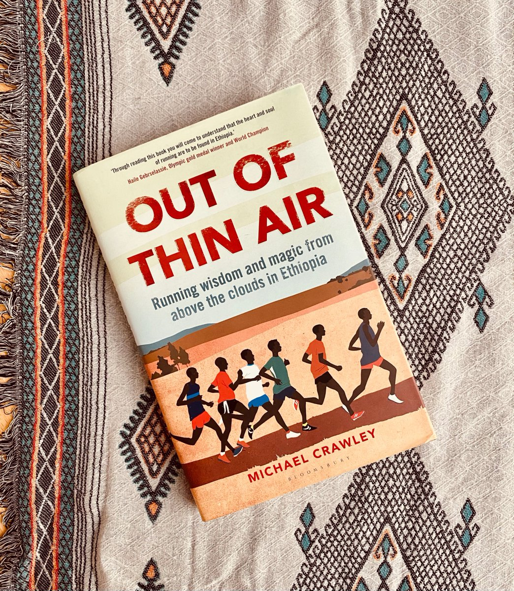 Today is #WorldBookDay! The last book we read on Ethiopia was 'Out Of Thin Air' by @mphcrawley.  By immersing himself in the culture of Ethiopian running, Michael takes you on a journey to discover why #Ethiopia🇪🇹 has some of the world's best long-distance runners.🏃🏾♀️🏃🏾♂️  #WBD2021