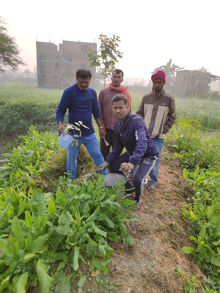 जीवन को बचाना है तो पौधा लगाना होगा.#saveplant #greenindiachallenge #GreenWall #selfiewithsapling #GoGreenPlateau #cleanindia #dmgopalganj #cmbihar #PMOIndia @PMOIndia @PTI_News @aajtak @tarun_gogoi @PrakashJavdekar #जलजीवनहरियाली #biharearthday #worldearthday #greenvillage
