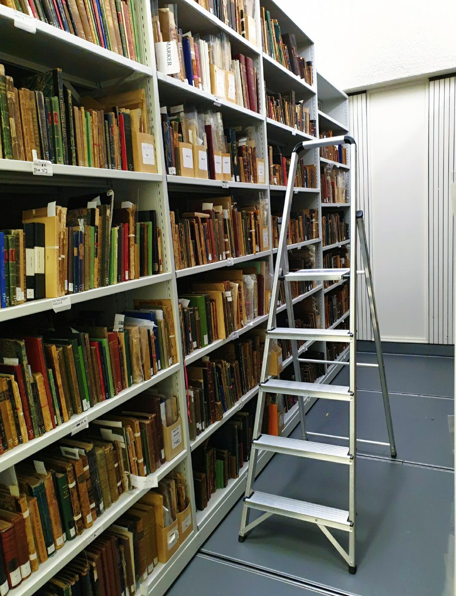 Have you heard about @opentexts - aka 'the Google for digitised books'?  From today, you can use it to find items from our special collections that are online, ready to read and download for free! Take a look:    #WorldBookDay (ladder not included)