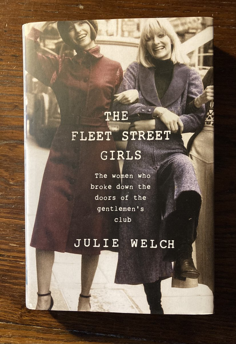 On #WorldBookDay , would like to recommend this by @DameJulieWelch, the doyenne of female football writers; the first one indeed. Love the cover and its contents match the vibrancy. Generously, Julie also acknowledges Vikki's pioneering role on tabloids.