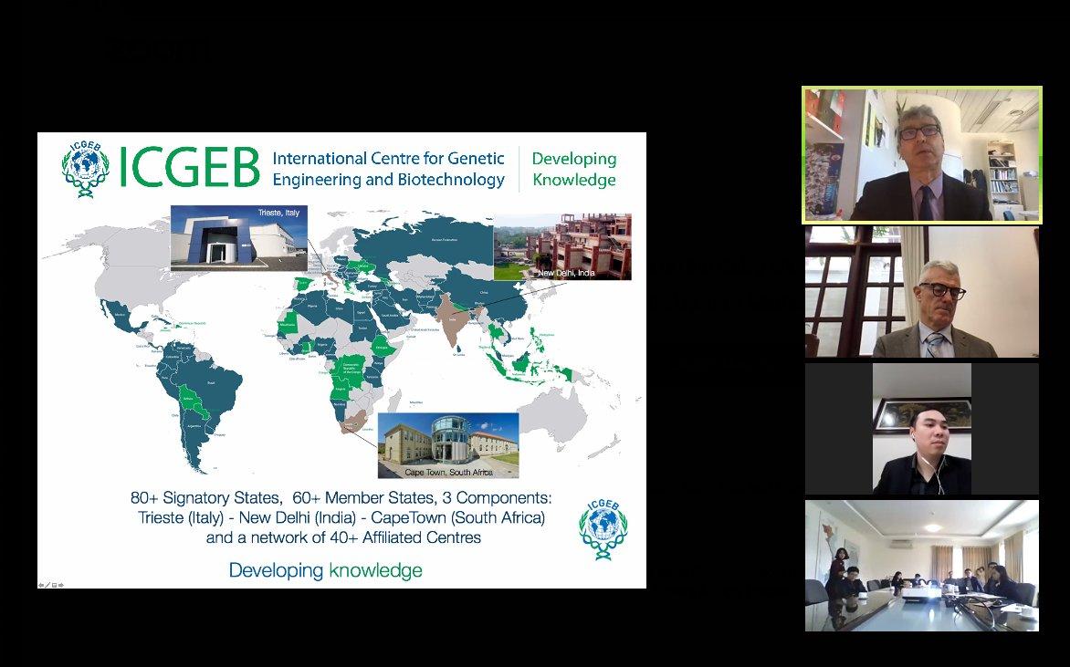1 March, #Vittorio Venturi #Bacteriology Group Leader organises kick-off meeting of #Italy - #Vietnam bilateral project for #Biofertilizers with #MOST #VAAS #SFRI #Vietnam & #Marco Abbiati, Science Attaché, @ItalyinVietnam #ICGEBMemberState #partnership #bilateralrelations https://t.co/gSbyQPLuMm