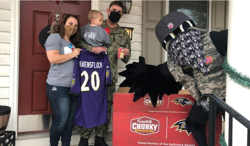 Over the last year, we teamed up with Campbell's and Blue Star Families to surprise military members across the country. 💜  ➡️: