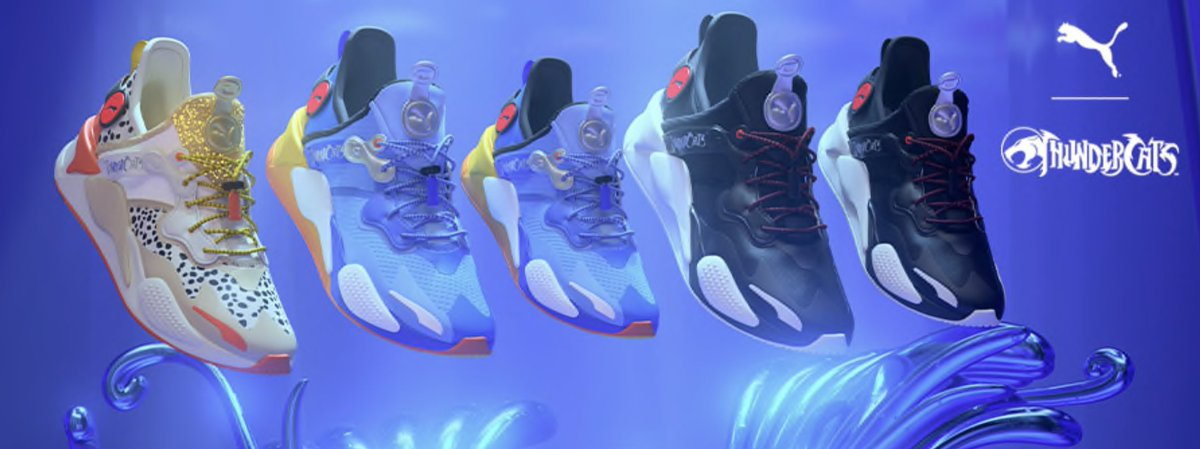 Hold on. Puma quietly announced ThunderCats shoes?