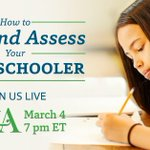 Image for the Tweet beginning: Questions about #homeschool #testing? Join