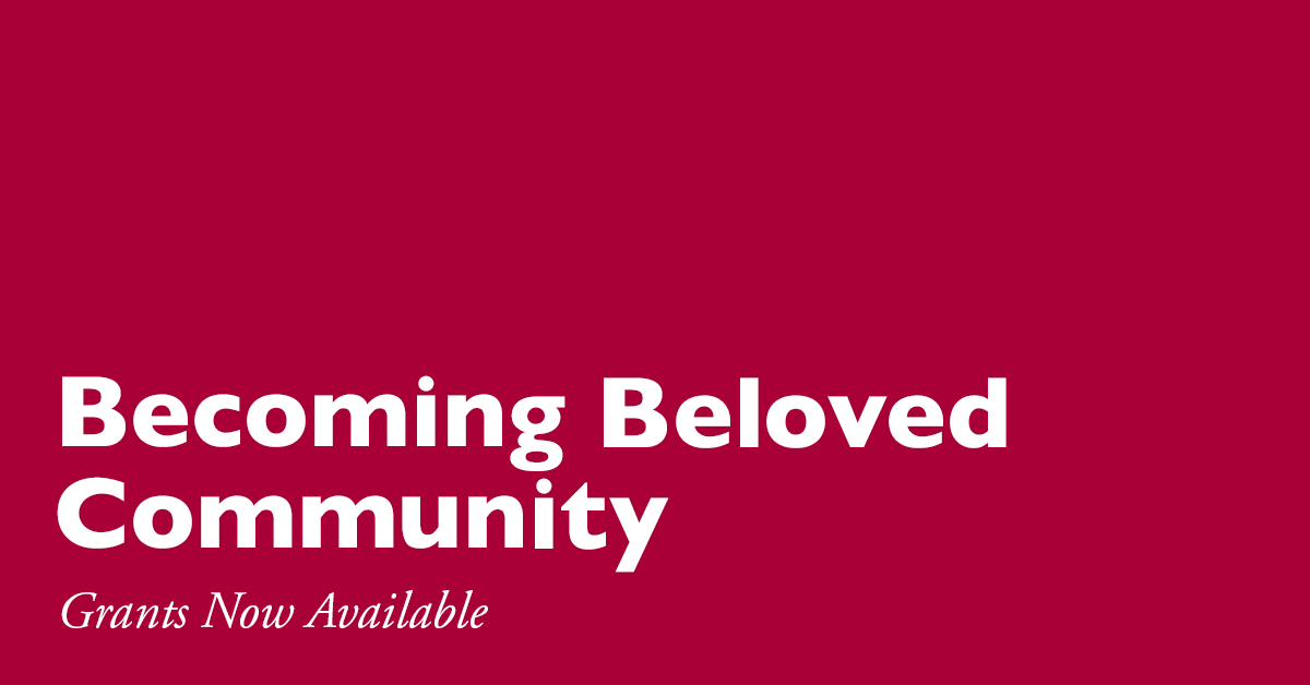 belfry_bat: via iamepiscopalian: The Presiding Officers' Advisory Group on #BelovedCommunity Implementation is pleased to announce the availability of grants to catalyze the church's work of racial healing, reconciliation, & justice. Learn more at …