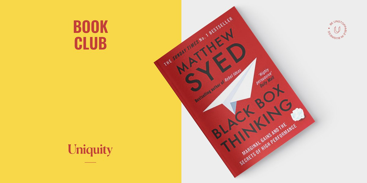 """This one was a recommendation from Scott Mowbray at @SnoopApp. He said: """"It's all about learning from failure. I'd recommend it to anyone in business – or in any walk of life."""" 📚Have you read it? What did you think? #WorldBookDay"""