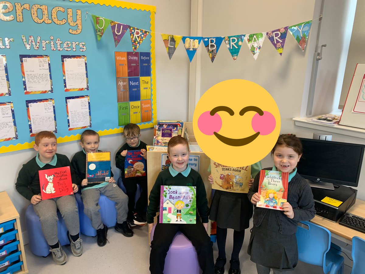 P2a enjoyed sharing their favourite books today 📚😊 #WorldBookDay