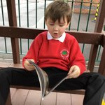 Image for the Tweet beginning: Y1F were 'caught reading' in