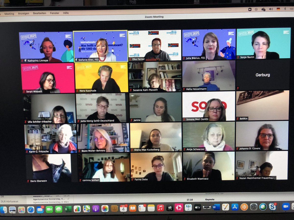 Der März ist DER #Frauenmonat #IWD2021 #EPD #CSW65. Den Auftakt macht heute @FESonline mit der Veranstaltung #wirsinddassystem @ASF_SPDFrauen @MariaNoichl @Frauenrat @UNWomen_Germany @josephineortleb