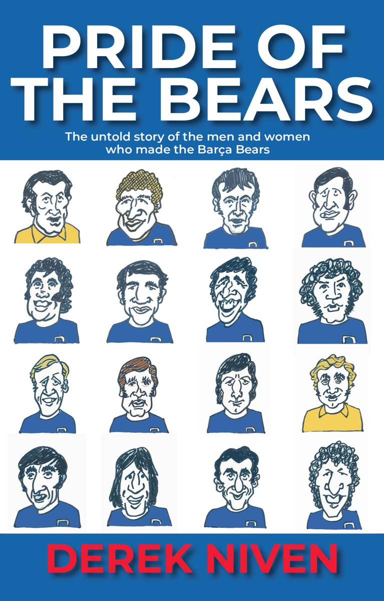 #WorldBookDay for World Book Day I'm giving away a free signed copy of Pride of the Bears by @derekniven72 to one lucky follower in the UK. Direct Message me your name, address and who you want signed to and I'll pick one lucky entrant. @BobSteele55 @RFC_Nicola need not apply 🤣