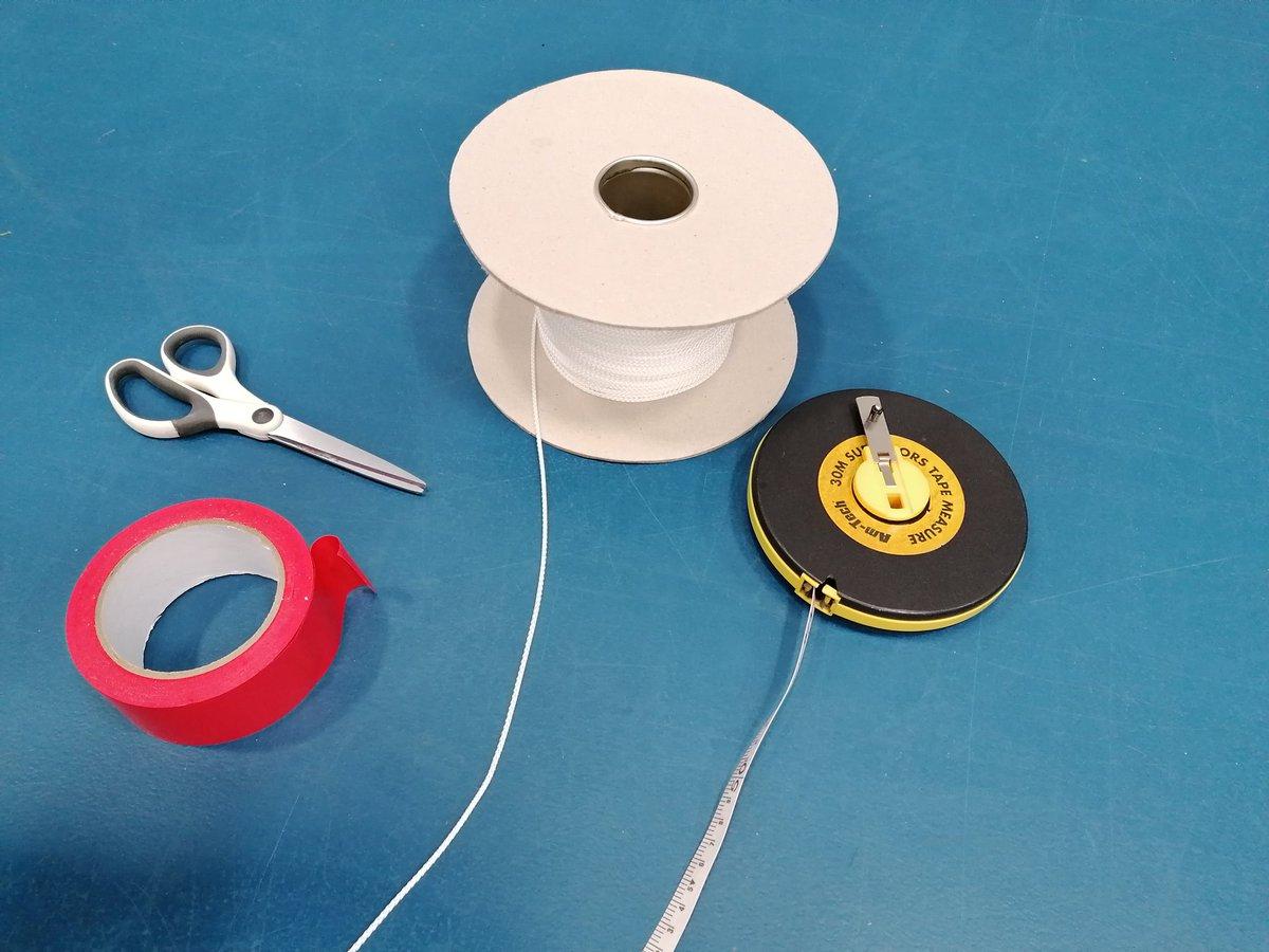 New Court Sportshall Tape Laying Marking Machine