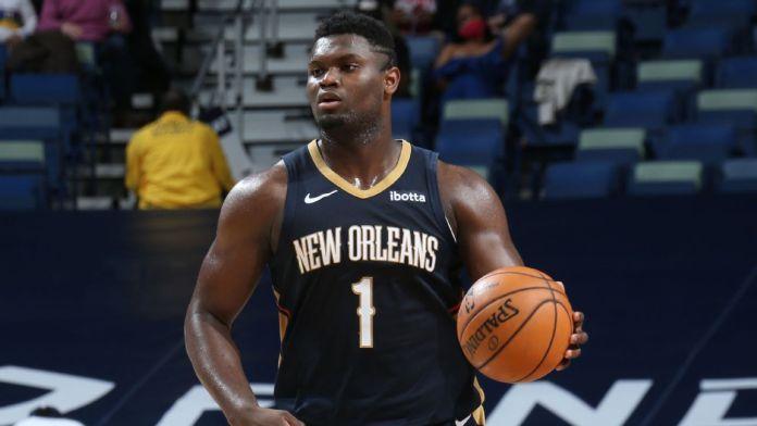 🐦 Les joueurs des #Pelicans totalisant le plus de matchs de suite à 20+ points…  1⃣ 18 - @AntDavis23 (déc. 2018 - jan. 2019) 2⃣ 14 - Zion Williamson (fév. 2021 - en cours) ‼️ 3⃣ 13 - @AntDavis23 (jan. - fév. 2015), @Zionwilliamson (jan. - mar. 2020)  Monster.