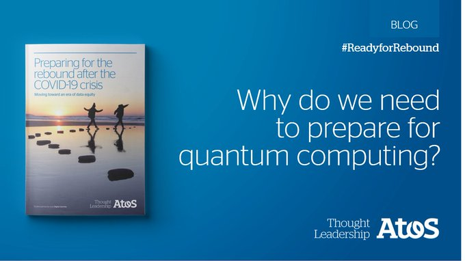 Today, #quantumcomputing must be added to the innovation roadmap for any company. Xavier Godin...
