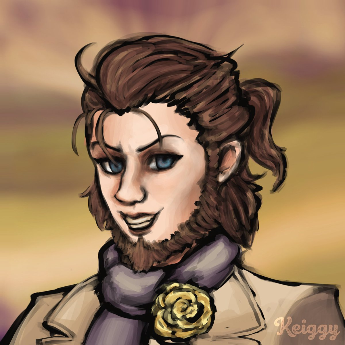 ĒĒT SÓRCERÆ Haven't gotten Bravely Default 2 yet, but the demos sure were something! I know I'll be eating a lot of sorcery soon enough. Here's a quick Elvis in the meantime. #SquareEnix #FinalFantasy #ArtistOnTwitter