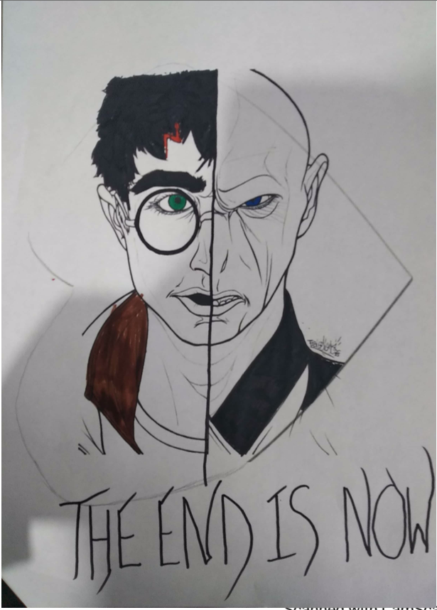 Our 2nd Year winners are Dhruv L and Samuel P for their new covers of #HarryPotterDeathlyHallows and #AssassinationClassroom! 👏  Highly commended goes to Jacob K! Well done everyone who submitted a design! #WorldBookDay