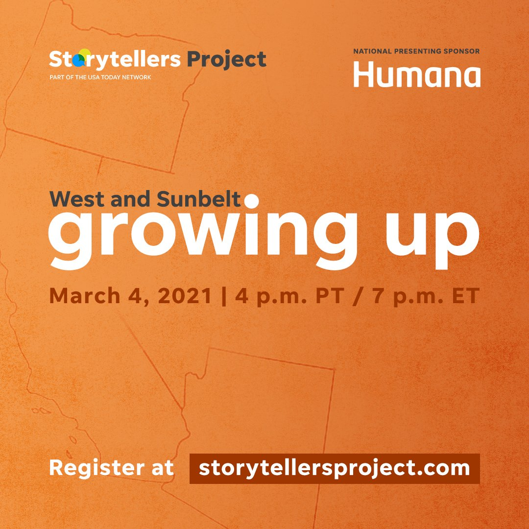 Growth is about glorious failures as much as victorious triumphs. Join us and @usastorytellers tonight for an hour of true, first-person stories about the highs and lows of growing up: https://t.co/FTTZDsFQqC https://t.co/nouZABC9gs